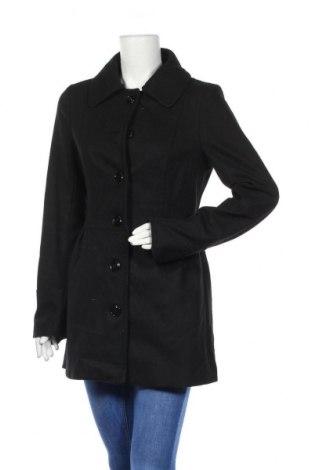 Γυναικείο παλτό Ann Christine, Μέγεθος M, Χρώμα Μαύρο, 50% μαλλί, 30% πολυεστέρας, 20% βισκόζη, Τιμή 33,90€