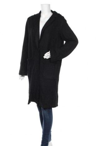 Дамско палто Best Mountain, Размер L, Цвят Черен, 70% полиестер, 30% вълна, Цена 62,37лв.