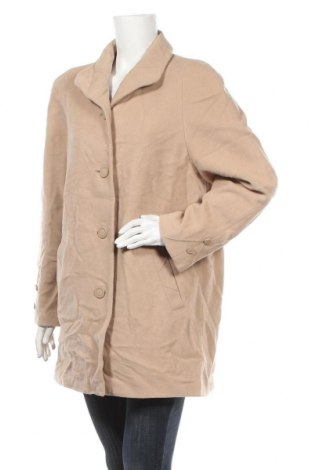 Дамско палто Bexleys, Размер L, Цвят Бежов, 72% вълна, 20% полиамид, 8% кашмир, Цена 13,65лв.