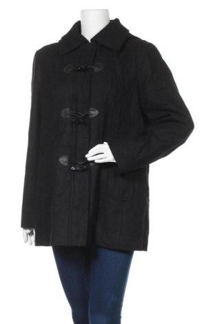 Γυναικείο παλτό Ellen Tracy, Μέγεθος XL, Χρώμα Μαύρο, 52% μαλλί, 38% πολυεστέρας, 10% άλλα υφάσματα, Τιμή 56,70€