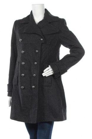 Дамско палто Covington, Размер M, Цвят Сив, 60% вълна, 25% полиестер, 15% вискоза, Цена 60,90лв.