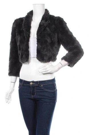 Дамско палто Dept, Размер M, Цвят Сив, Полиестер, Цена 10,08лв.