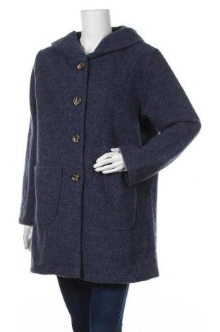 Γυναικείο παλτό Driver, Μέγεθος L, Χρώμα Μπλέ, 70% μαλλί, 30% πολυεστέρας, Τιμή 33,12€