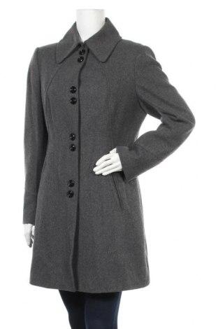 Дамско палто Esprit, Размер L, Цвят Сив, 65% вълна, 35% вискоза, Цена 58,50лв.