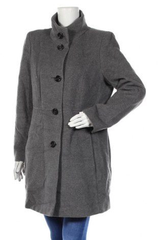 Дамско палто Fuchs & Schmitt, Размер XL, Цвят Сив, 60% вълна, 20% полиамид, 20% кашмир, Цена 53,34лв.