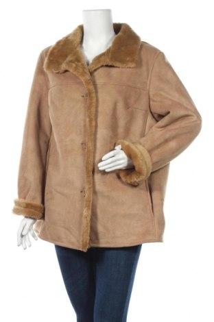 Γυναικείο παλτό G.W., Μέγεθος XL, Χρώμα Καφέ, 63% πολυακρυλικό, 37% πολυεστέρας, Τιμή 44,81€