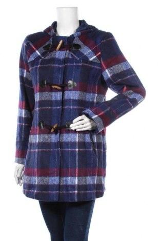 Дамско палто George, Размер M, Цвят Многоцветен, 68% полиестер, 14% акрил, 7% памук, 11% други нишки, Цена 30,45лв.