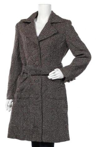 Дамско палто George, Размер M, Цвят Многоцветен, 40% полиестер, 30% акрил, 25% вълна, 5% други материали, Цена 22,58лв.