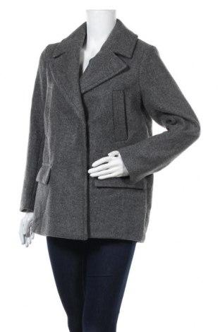 Дамско палто H&M, Размер S, Цвят Сив, Полиестер, Цена 88,20лв.