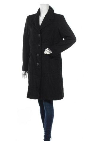 Γυναικείο παλτό Jessica, Μέγεθος L, Χρώμα Μαύρο, 55% μαλλί, 33% πολυεστέρας, 7% βισκόζη, 5% άλλα νήματα, Τιμή 34,55€