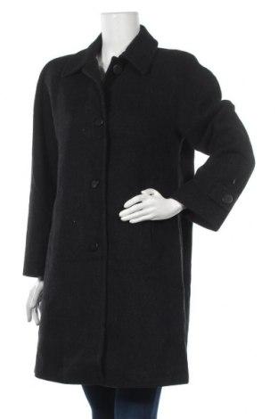 Дамско палто Jones New York, Размер L, Цвят Черен, 70% вълна, 20% полиамид, 10% кашмир, Цена 81,90лв.