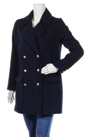 Γυναικείο παλτό Justfab, Μέγεθος S, Χρώμα Μπλέ, Πολυεστέρας, Τιμή 24,49€
