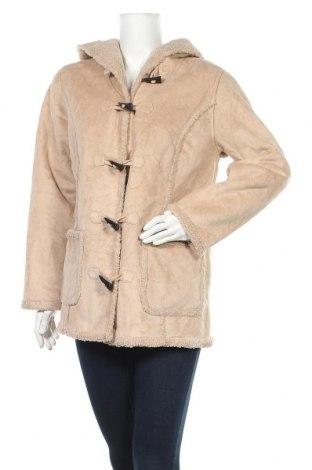 Дамско палто L.L. Bean, Размер M, Цвят Бежов, Полиестер, Цена 60,90лв.