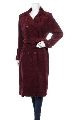 Дамски шлифер La Redoute, Размер L, Цвят Червен, Памук, Цена 49,14лв.