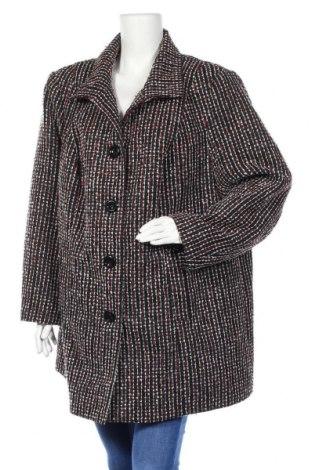 Дамско палто M. Collection, Размер XXL, Цвят Многоцветен, 66% полиакрил, 19% полиамид, 15% вълна, Цена 19,11лв.