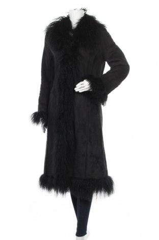 Γυναικείο παλτό Mauritius, Μέγεθος S, Χρώμα Μαύρο, Φυσική τρίχα, πολυακρυλικό, πολυεστέρας, Τιμή 43,02€