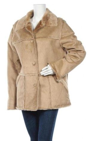 Дамско палто Michele Boyard, Размер L, Цвят Бежов, Полиестер, Цена 12,86лв.