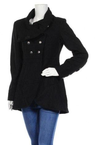 Dámský kabát  Minimum, Velikost S, Barva Černá, 60% vlna, 40% polyester, Cena  808,00Kč