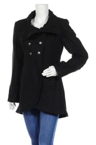 Дамско палто Minimum, Размер M, Цвят Черен, 60% вълна, 40% полиестер, Цена 114,92лв.