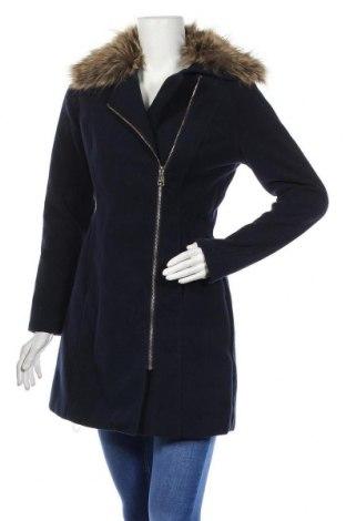 Дамско палто My Hailys, Размер S, Цвят Син, Полиестер, Цена 24,57лв.
