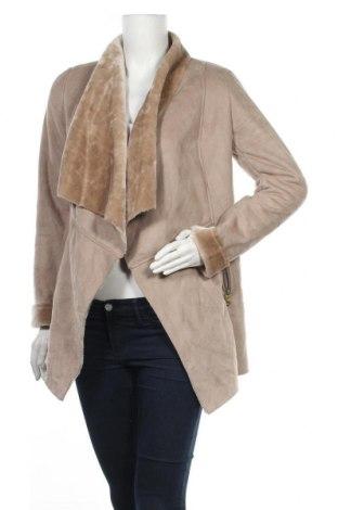 Дамско палто New Look, Размер S, Цвят Бежов, Полиестер, Цена 36,23лв.