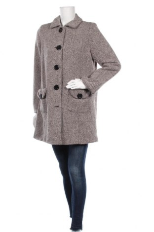Γυναικείο παλτό New View, Μέγεθος L, Χρώμα  Μπέζ, 55%ακρυλικό, 45% μαλλί, Τιμή 25,91€
