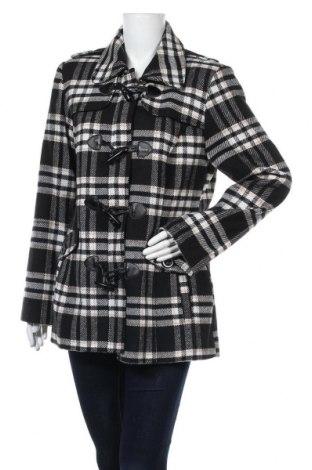 Дамско палто Nkd, Размер L, Цвят Многоцветен, 90% полиестер, 5% вълна, 5% други тъкани, Цена 48,30лв.