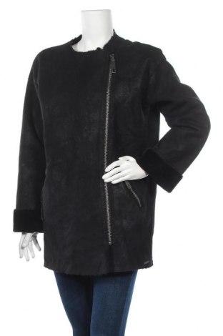 Γυναικείο παλτό Pepe Jeans, Μέγεθος XS, Χρώμα Μαύρο, Πολυεστέρας, Τιμή 57,80€