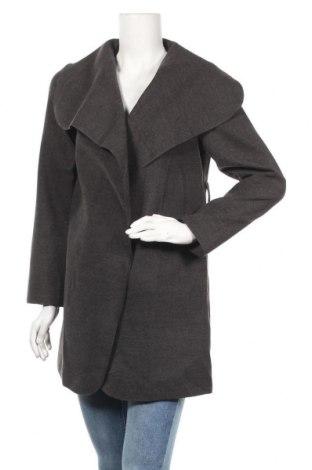 Дамско палто Piazza Italia, Размер M, Цвят Сив, Полиестер, Цена 14,70лв.