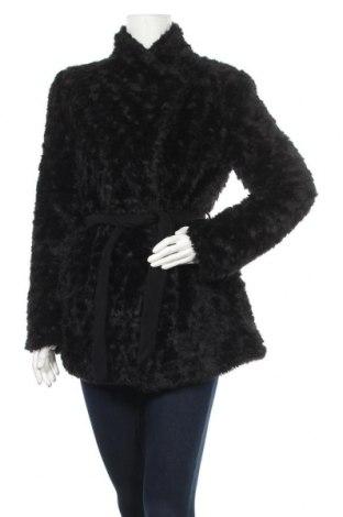 Дамско палто Promod, Размер S, Цвят Черен, 76% акрил, 24% полиестер, Цена 16,93лв.