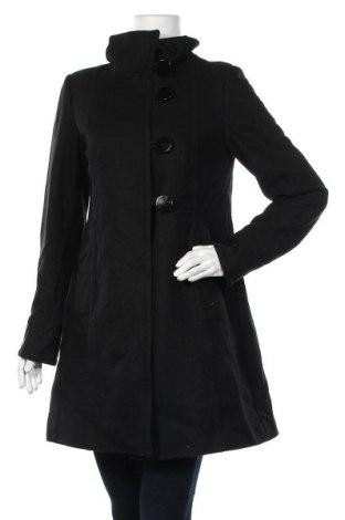 Дамско палто Rw & Co., Размер M, Цвят Черен, 60% вълна, 40% вискоза, Цена 17,64лв.