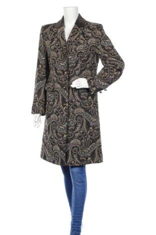 Дамско палто Steinbock, Размер M, Цвят Многоцветен, 59% вискоза, 21% полиестер, 17% вълна, 3% еластан, Цена 70,51лв.