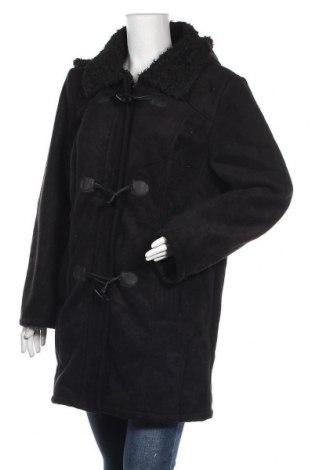 Γυναικείο παλτό Ulla Popken, Μέγεθος XL, Χρώμα Μαύρο, Πολυεστέρας, Τιμή 26,18€