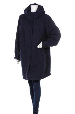 Γυναικείο παλτό Ulla Popken, Μέγεθος XXL, Χρώμα Μπλέ, 83% πολυεστέρας, 16% βισκόζη, 1% ελαστάνη, Τιμή 46,76€