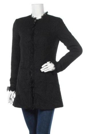 Дамско палто Venus, Размер S, Цвят Черен, Полиестер, Цена 16,70лв.