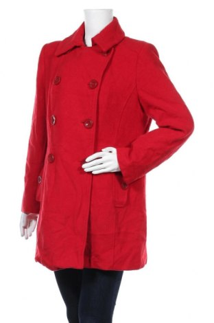 Дамско палто W, Размер XL, Цвят Червен, Цена 36,54лв.