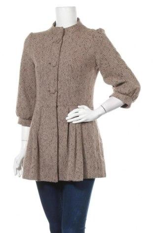 Γυναικείο παλτό Yes Or No, Μέγεθος S, Χρώμα Καφέ, 30% μαλλί, 30%ακρυλικό, 30% βισκόζη, 10% πολυεστέρας, Τιμή 18,71€