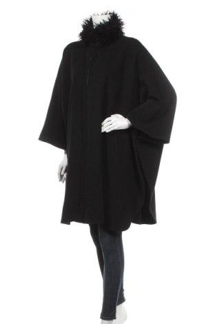 Дамско палто Yessica, Размер M, Цвят Черен, 80% вълна, 20% полиамид, Цена 25,20лв.