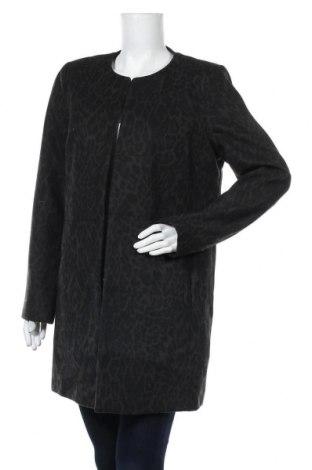 Дамско палто Yessica, Размер L, Цвят Зелен, 94% полиестер, 5% вискоза, 1% еластан, Цена 19,32лв.
