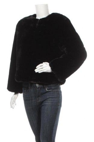 Дамско палто Yira, Размер L, Цвят Черен, 80% акрил, 20% полиестер, Цена 31,40лв.