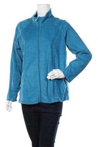 Γυναικεία ζακέτα fleece Carole Hochman, Μέγεθος L, Χρώμα Μπλέ, Πολυεστέρας, Τιμή 14,03€