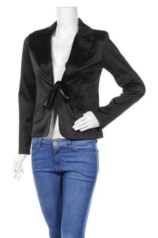 Дамско сако, Размер M, Цвят Черен, 95% памук, 5% еластан, Цена 14,18лв.