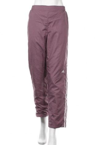 Γυναικείο αθλητικό παντελόνι Adidas, Μέγεθος M, Χρώμα Σάπιο μήλο, Πολυεστέρας, Τιμή 11,04€