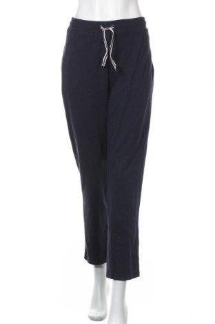 Γυναικείο αθλητικό παντελόνι Walbusch, Μέγεθος L, Χρώμα Μπλέ, 95% βαμβάκι, 5% ελαστάνη, Τιμή 12,86€