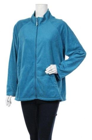 Γυναικεία αθλητική ζακέτα Carole Hochman, Μέγεθος XL, Χρώμα Μπλέ, Πολυεστέρας, Τιμή 13,45€