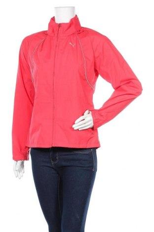 Дамско спортно яке PUMA, Размер M, Цвят Червен, Полиестер, Цена 21,42лв.