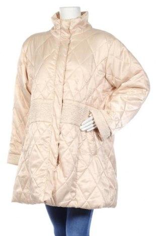 Дамско яке, Размер XL, Цвят Бежов, Полиестер, Цена 14,28лв.