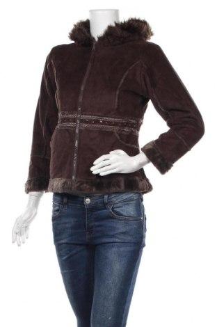 Дамско яке, Размер S, Цвят Кафяв, Полиестер, Цена 6,72лв.