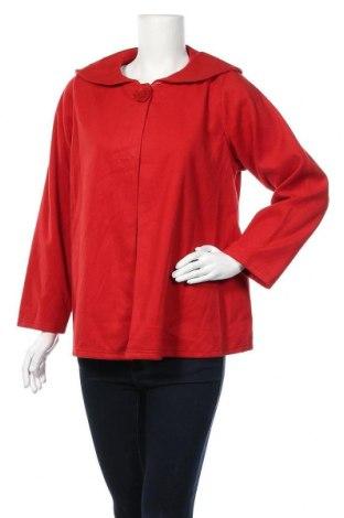 Дамско яке, Размер L, Цвят Червен, Полиестер, Цена 9,71лв.