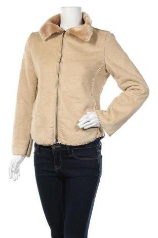 Дамско яке, Размер S, Цвят Бежов, Полиестер, Цена 45,15лв.